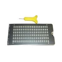 Hochwertige Brailletafel, Metall