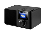 Noxon iRadio Rev 2 Internet Radio (7,1 cm Farbdisplay, WLAN Netzschalter, Kopfhörer, Line out) schwarz