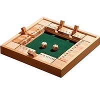 Shut the Box – Klappenspiel für bis zu 4 Personen