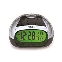 Sprechender Wecker mit großem Reflex ewiger Kalender LCD Display und Temperatur