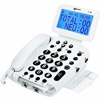 Geemarc – Telefon mit Sprachführung und großen Tasten