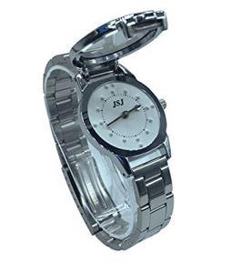 Taktile Edelstahl Armbanduhr