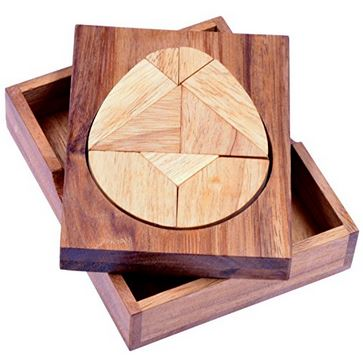 Tangram Ei – Legespiel aus Holz