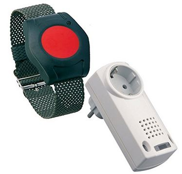 Hausnot-Alarm mit Funk Armbandsender