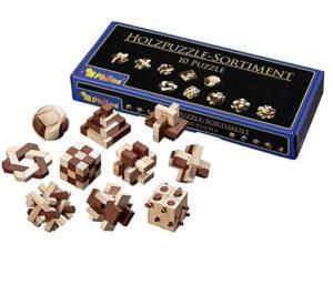 Holzpuzzle Knobelspiel