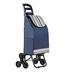 Einkaufstrolley mit Treppensteigfunktion