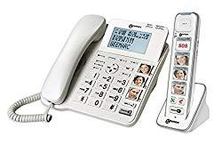 Seniorentelefone Kombi mit Fototasten