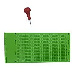 Brailletafel 9 Zeilen