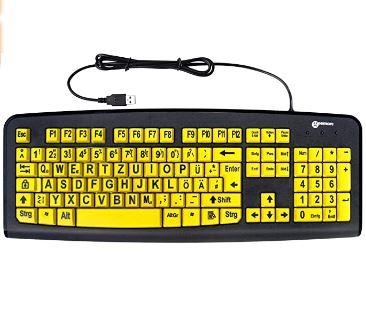 Tastatur für Sehschwache