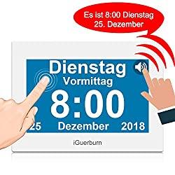 Digitaler sprechender Kalender