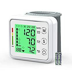Großdisplay Blutdruck u. Herzfrequenz Messung