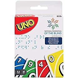 Uno Braille Kartenspiel