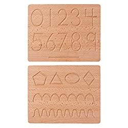 Holz Zahlenbrett Lernhilfe