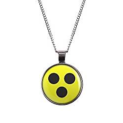 Halskette mit Blindensymbol